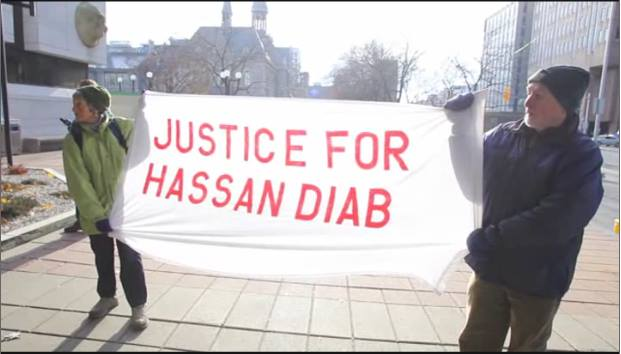 Support Hassan Diab!