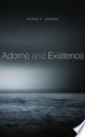 Adorno and Existence