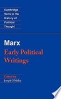 Marx: Early Political Writings