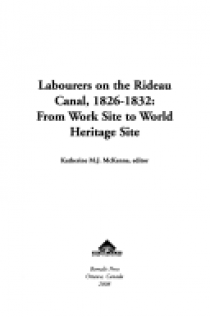 Labourers on the Rideau Canal, 1826-1832