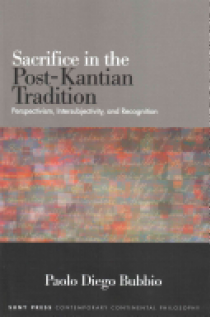 Sacrifice in the Post-Kantian Trad