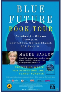 Maude Barlow Book Launch of Blue Future