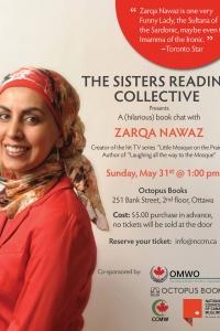 A (hilarious) book chat with  Zarqa Nawaz