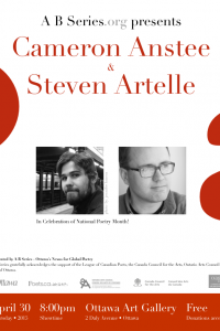 ANSTEE & ARTELLE - A B Series celebrates National Poetry Month