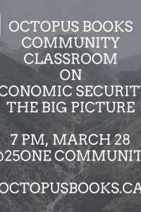 (Octopus Books Community Classroom) On Economic Security: The Big Picture