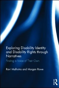 Book Launch: Exploring Disability Identity and Disability Rights through Narratives with Ravi Malhotra and Morgan Rowe