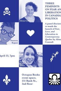 Three Feminists on Fear and Liberation in Canadian Politics