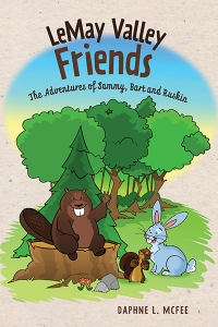 Reading LeMay Valley Friends: The Adventures of Sammy, Bart and Ruskin (Kids Book) with author Daphne McFee