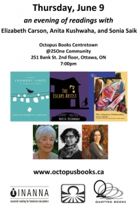 Laundry Lines, The Escape Artist and The Lebanese Dishwasher - Book Reading