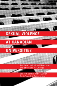 Sexual Violence at Canadian Universities Book Launch with Editors, Contributors and Frontline Anti-Violence Workers