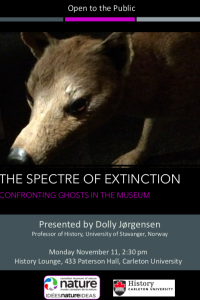 The Spectre of Extinction: Confronting Ghosts in the Museum