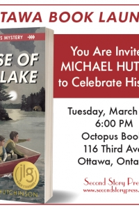 The Case of Windy Lake - join Michael Hutchinson to celebrate his new book